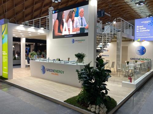 Allestimento e realizzazione Grafica Stand per Ecomondo 2019