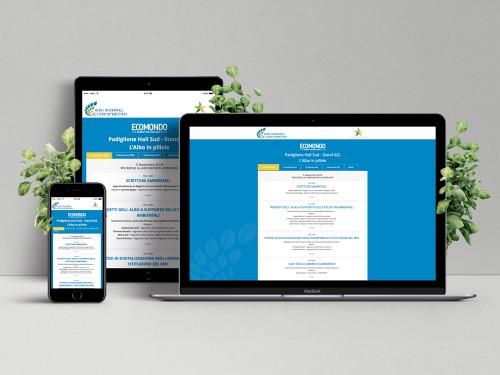 Landing Page per Diretta Web Eventi Ecomondo 2019