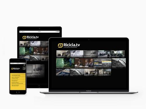 Sito web Ricicla.tv